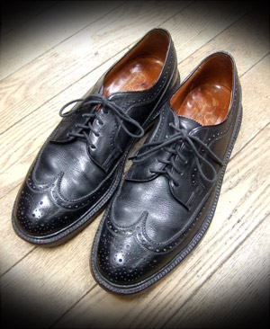 FLORSHEIM Imperial ウィングチップ ダブルレザーソール