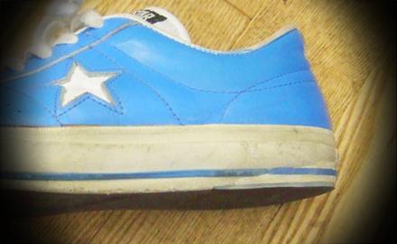 コンバーススニーカー靴修理後